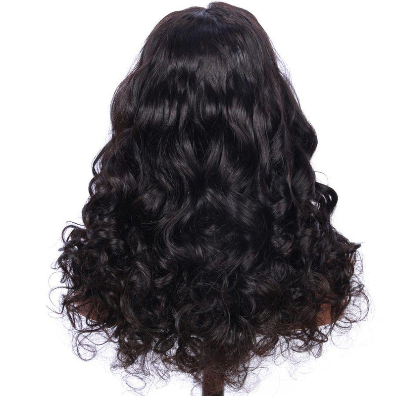 Jessica Hair 13x6 Lace Front Wigs Human Hair Wigs Loose Wave Brazilian Remy Hair Natural Color Wigs For Black Women(J10252)