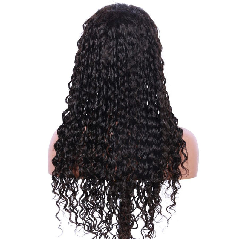 Jessica Hair Full Lace Wigs Human Hair Wigs For Black Women Curly Brazilian Remy Hair Pre Plucked(J10191)
