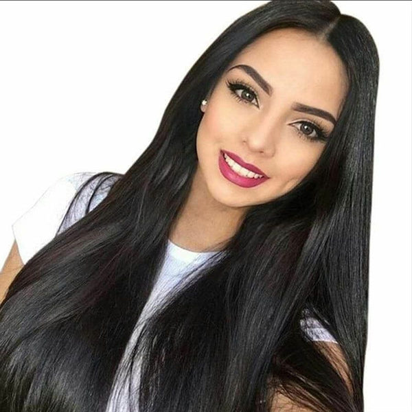 Jessica hair Silky Straight Remy Hair Full Lace Human Hair Wigs