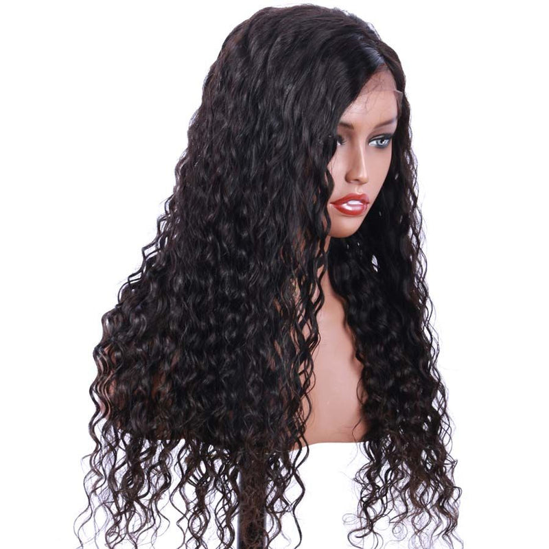 Jessica Hair Full Lace Human Hair Wigs Remy Hair Natural Wave Wigs For Black Women(J10221)