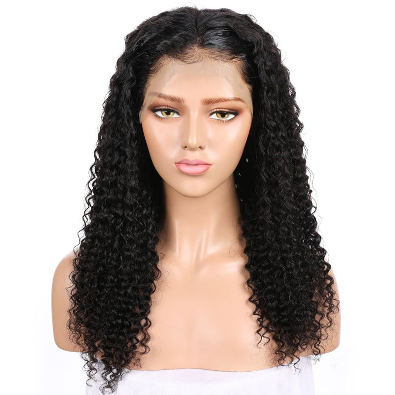 Jessica hair Kinky Curly 360 Lace Frontal Remy Human Hair Wigs