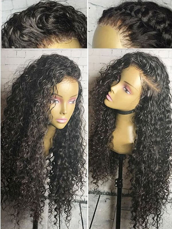 Jessica Hair Loose Curly 360 Lace Frontal Wigs For Black Women Brazilian Remy Hair With Baby Hair(J1072)