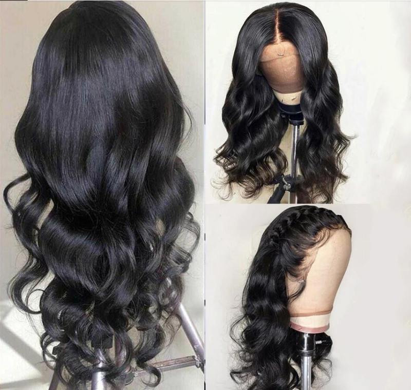 Jessica Hair Lace Front Wigs Body Wave Brazilian Remy Human Hair Wigs For Black Women with Baby Hair