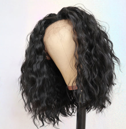 Jessica Hair Lace Front Wigs Short Loose Wave Brazilian Remy Human Hair Wigs For Black Women