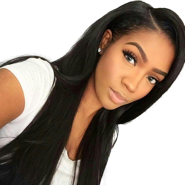 Jessica Hair Full Lace Wigs For Black Women Remy Hair Silky Straight Wigs(J0022)