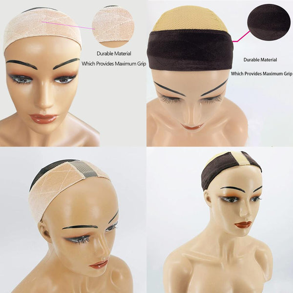 Buy Wigs Will Ship -- Jessica Hair Wig Grip Velvet Comfort Adjustable Elastic Wig Band for Lace Wigs and Frontal With Swiss Lace For Seamless Transition