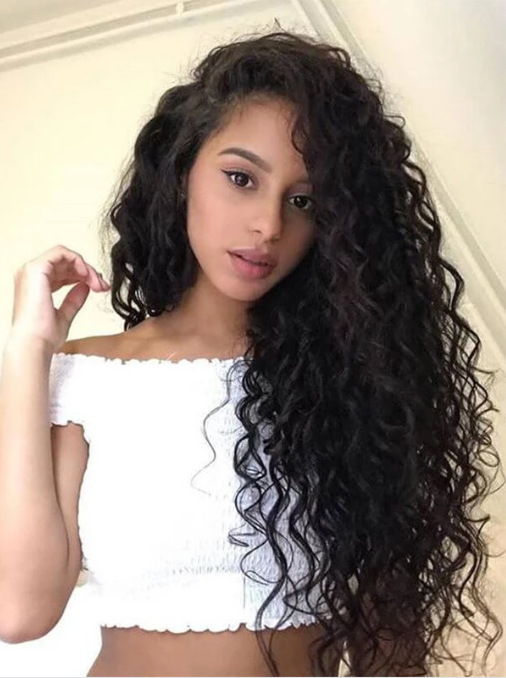 Jessica Hair Loose Curly 13x6 Lace Front Wigs For Black Women Brazilian Remy Hair With Baby Hair(J1073)