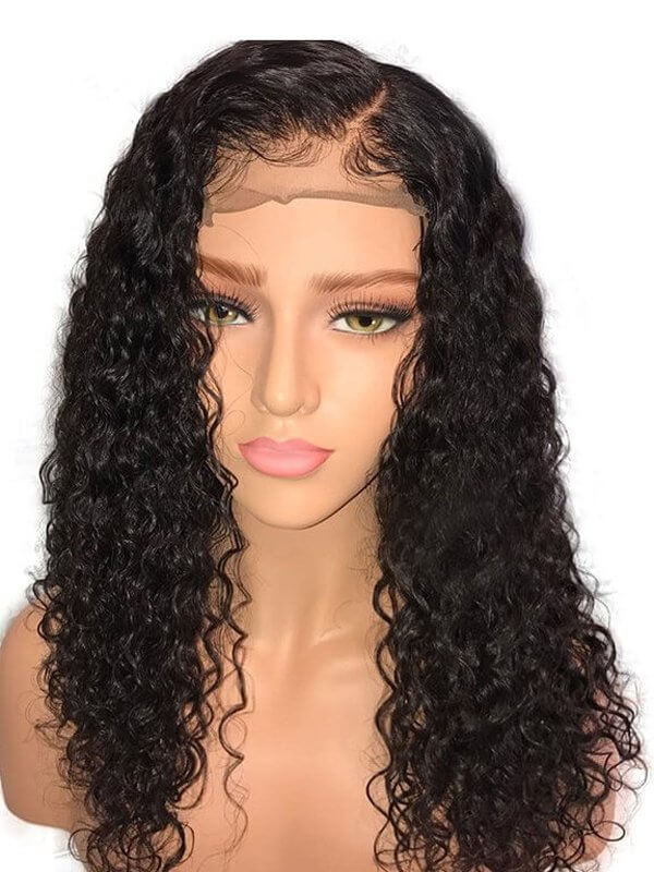 Hot Sale -- Same Day Fast Shipping Jessica Hair 13x6 Lace Front Wigs For Black Women Sexy Curly Brazilian Remy Hair With Natural Hairline(J1021)