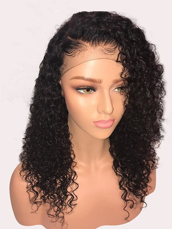 Jessica Hair Full Lace Wigs For Black Women Sexy Curly Brazilian Remy Hair  With Natural Hairline(J1023)