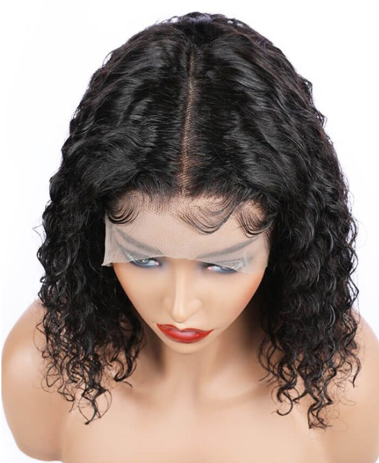 Jessica Hair Lace Front Wigs Natural Curly Brazilian Remy Human Hair Wigs For Black Women