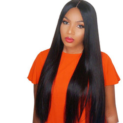 Jessica hair Silky Straight Remy Hair 13x6 Lace Front Human Hair Wigs