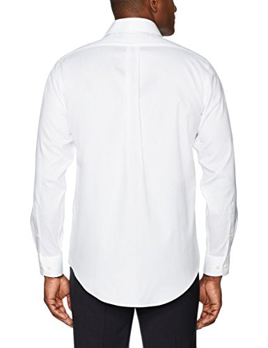 BUTTONED DOWN Men's Classic Fit Spread-Collar Solid