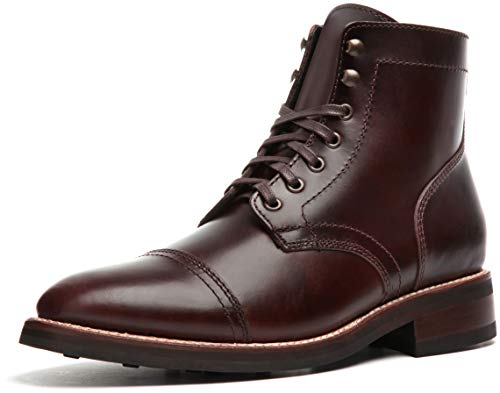 Thursday Boot Company Captain Men's Lace-up Boot, Brown, 7 M US | Oxford & Derby