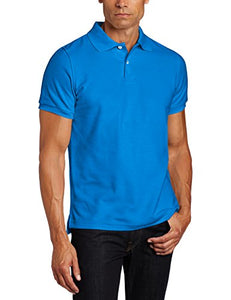 Lee Uniforms Men's Modern Fit Short Sleeve Polo Shirt: Clothing