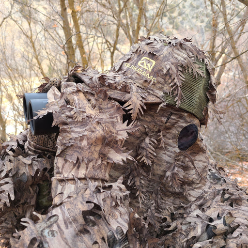 Turkey Gear (3D Leafy Face Masks, Leafy Gloves, and Leafy Suits)