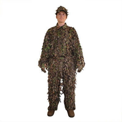 NWTF Mossy Oak Obsession 3D Leafy Camo Suit, Top and Bottom (Lightweight, Quiet)