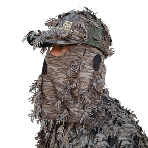 Mossy Oak New Bottomland Leafy Face Mask Hat