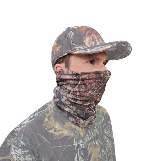 QuikCamo Mossy Oak Break-Up Country Gaiter Face Mask Main