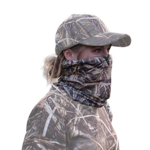 QuikCamo Mossy Oak Shadow Grass Blades Hunting Camo Face Mask