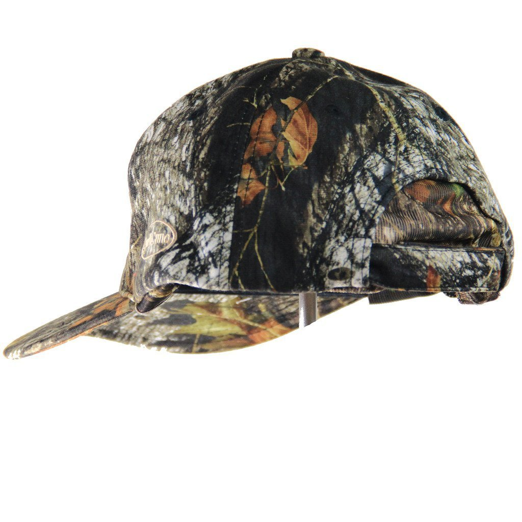 Mossy Oak Break-Up | Camo Hat and Rear Face Mask (Adjustable) - QuikCamo