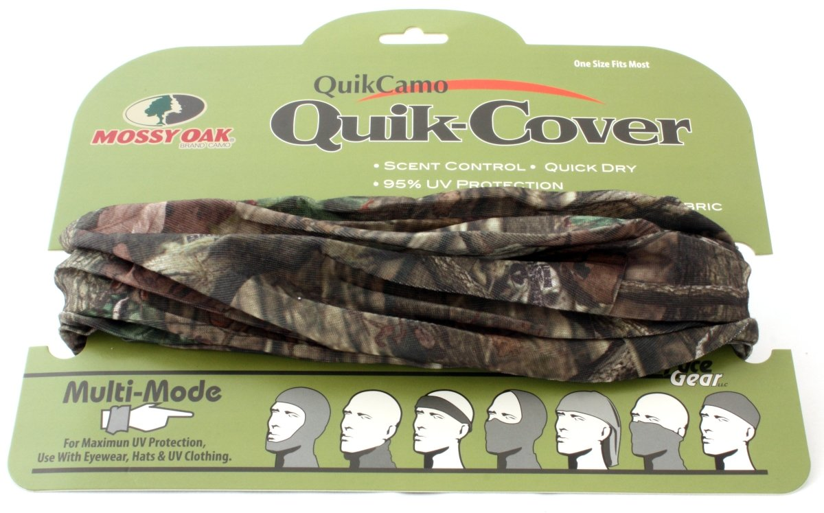 Mossy Oak Break Up Country Camo Face Mask Lightweight Multifunctional (OSFM) - QuikCamo