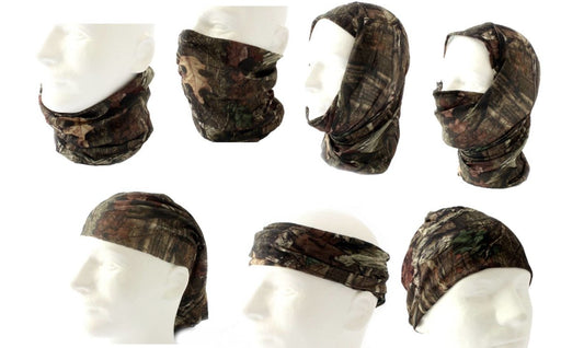 Mossy Oak Break-Up Infinity Camo Face Mask | Lightweight Multifunctional Headwear (OSFM) - QuikCamo