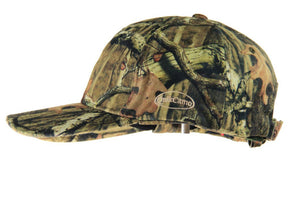 Mossy Oak Break-Up Infinity | Camo Hat with Front Face Mask (60 cm Adjustable) - QuikCamo
