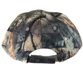 Mossy Oak Treestand | Camo Hat and Face Mask (Front Model, 60cm, 7 5/8 Adjustable) - QuikCamo