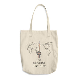 TORONTO, CANADA - 2019 INTERNATIONAL CONVENTION - COTTON TOTE BAG