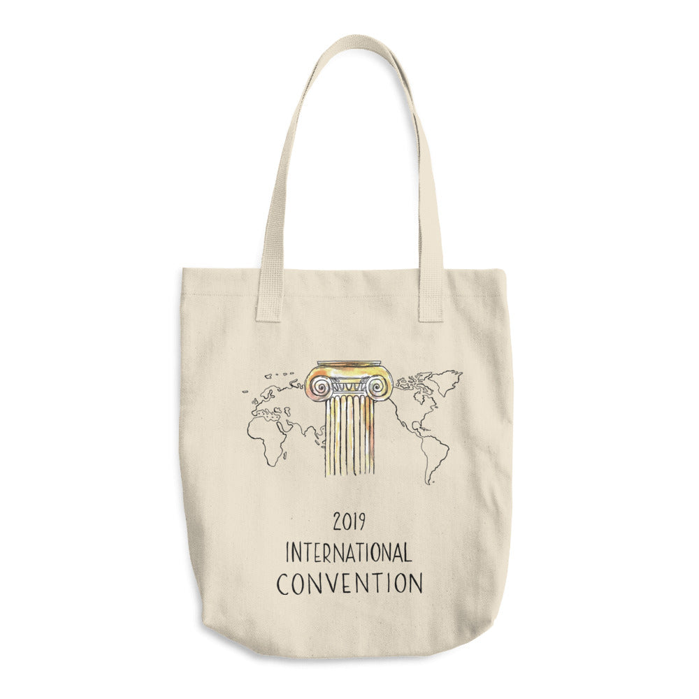 GREECE - 2019 INTERNATIONAL CONVENTION - COTTON TOTE BAG
