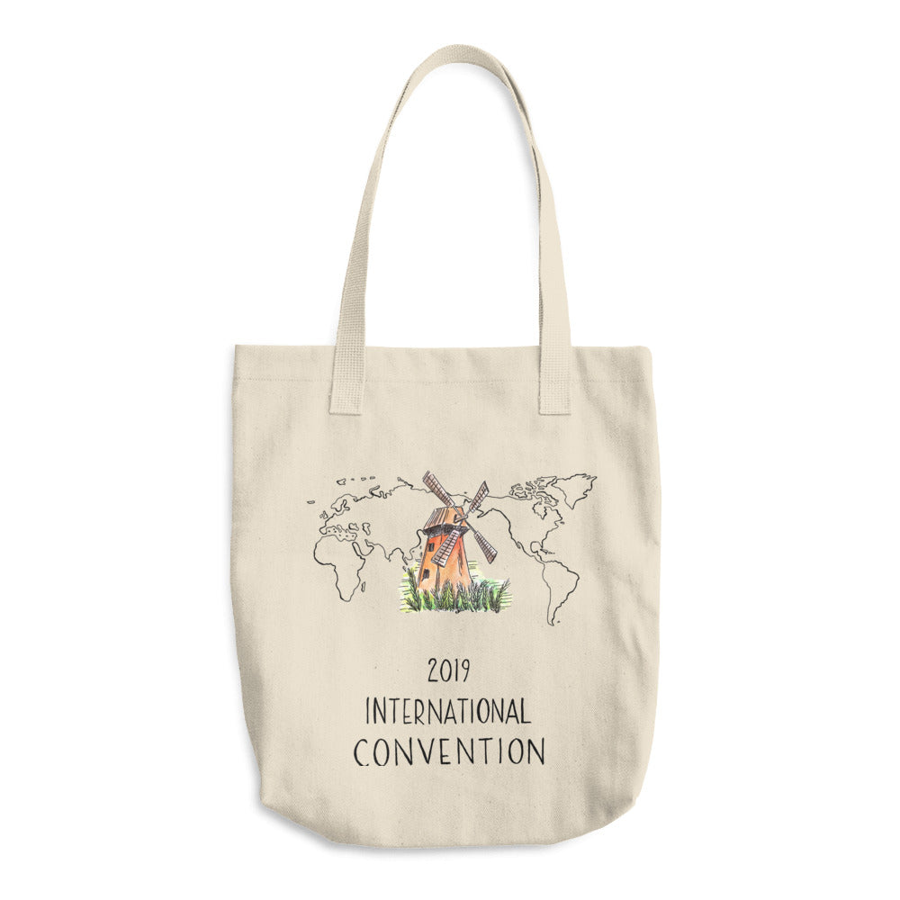 NETHERLANDS - 2019 INTERNATIONAL CONVENTION - COTTON TOTE BAG