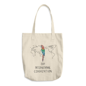 BRAZIL - 2019 INTERNATIONAL CONVENTION - COTTON TOTE BAG