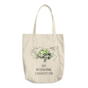 ECUADOR - 2019 INTERNATIONAL CONVENTION - COTTON TOTE BAG