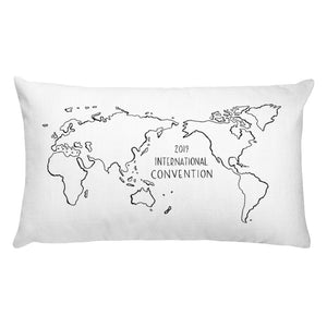 ATLANTA - 2019 INTERNATIONAL CONVENTION - THROW PILLOW