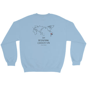 ARGENTINA - 2019 INTERNATIONAL CONVENTION - UNISEX COTTON SWEATSHIRT