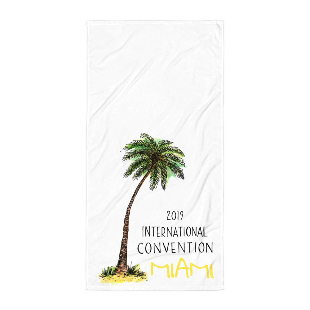 MIAMI - 2019 INTERNATIONAL CONVENTION - COTTON TOWEL