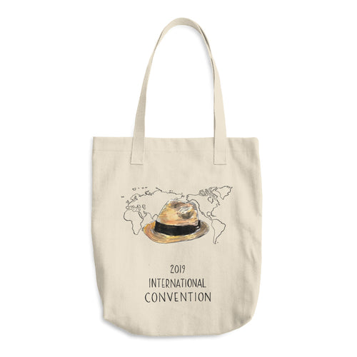 ARGENTINA - 2019 INTERNATIONAL CONVENTION - COTTON TOTE BAG
