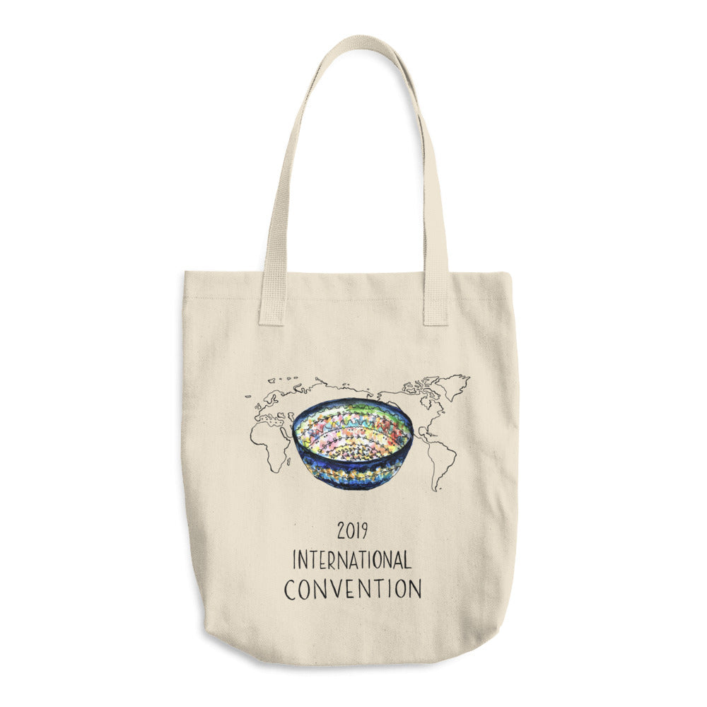 POLAND - 2019 INTERNATIONAL CONVENTION - COTTON TOTE BAG