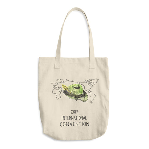 GERMANY - 2019 INTERNATIONAL CONVENTION - COTTON TOTE BAG