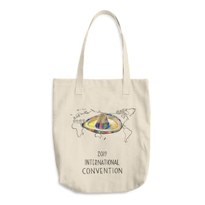 MEXICO - 2019 INTERNATIONAL CONVENTION - COTTON TOTE BAG