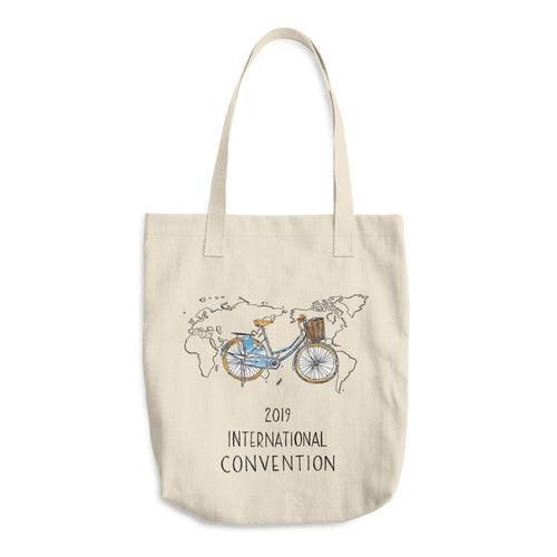 DENMARK - 2019 INTERNATIONAL CONVENTION - COTTON TOTE BAG