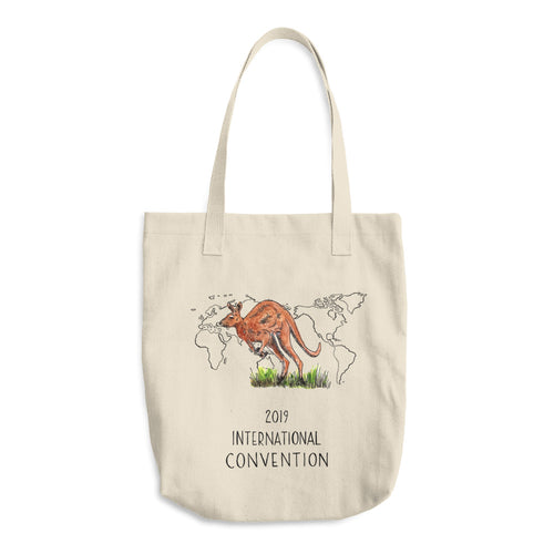 AUSTRALIA - 2019 INTERNATIONAL CONVENTION - COTTON TOTE BAG
