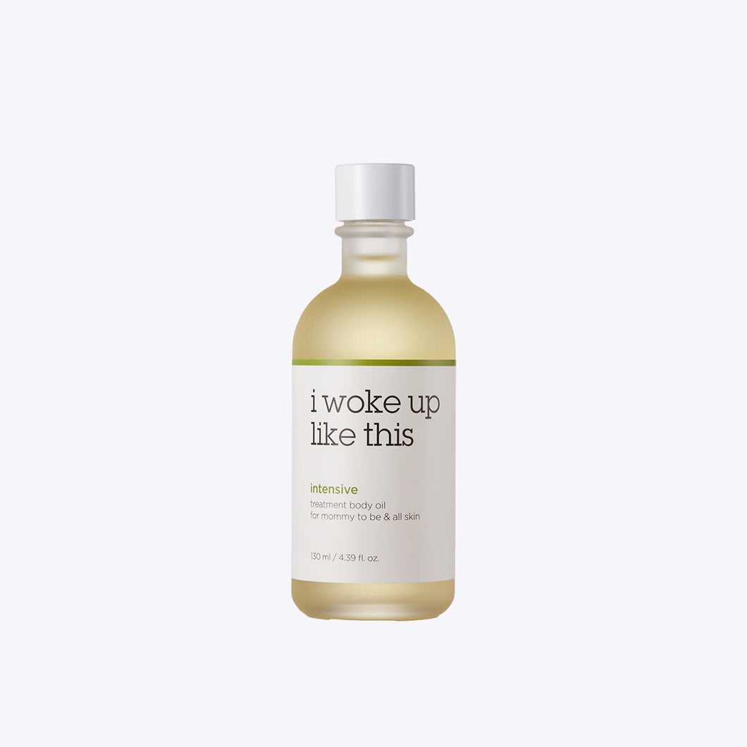 Intensive treatment body oil for mommy to be & all skin