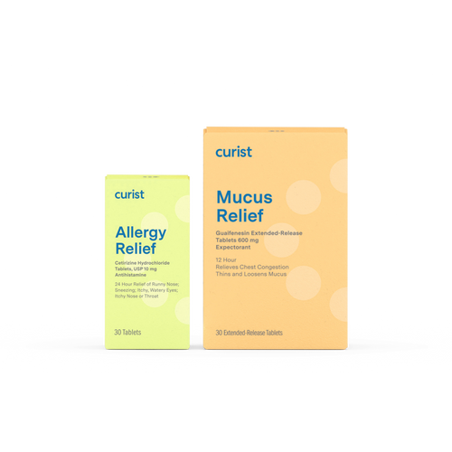 Curist Congestion & Allergy Kit