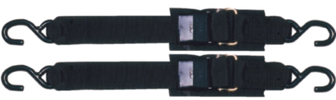 Transom Tie Down w/ Quick Release Buckle - 2 Pack