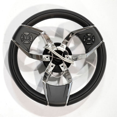 Gussi Ettore 3 Spoke Steering Wheel