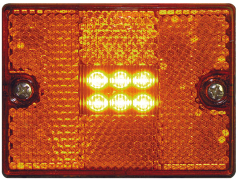 Seachoice LED Square Stud Mount Clearance/Market Light