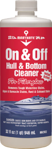On & Off Hull Cleaner - Quart