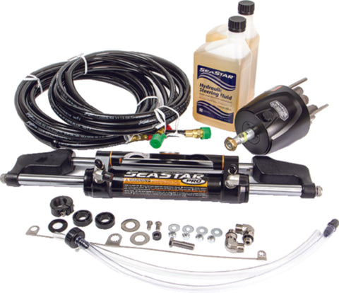 SeaStar Pro Hydraulic Steering Kit w/ 18' Hose