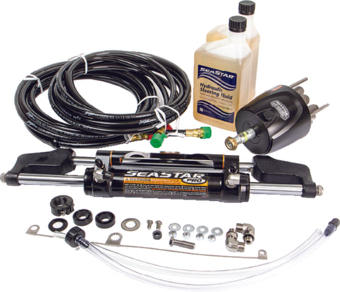 SeaStar Pro Hydraulic Steering Kit w/ 16' Hose